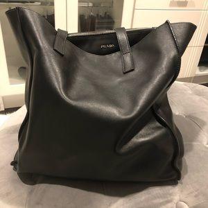 Prada Women's Black Shoulder Bag